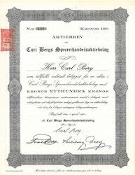 Carl Bergs Specerihandels AB