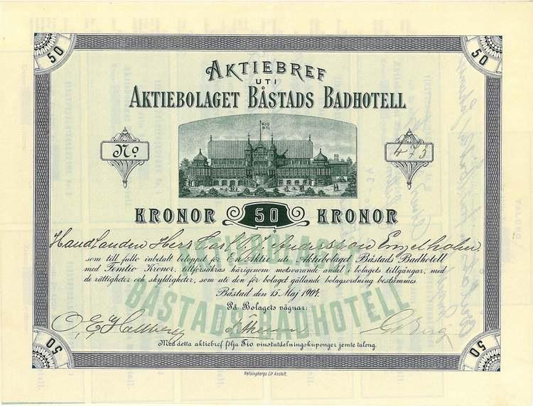 Båstads Badhotell, AB