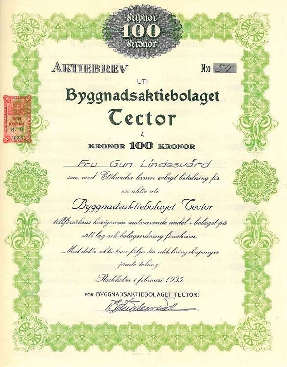 Byggnads AB Tector