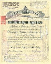 Drufvefors Väveri AB, 1933