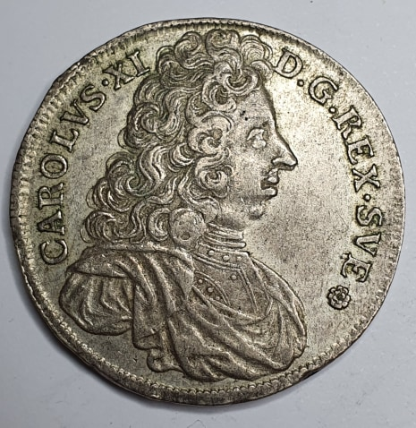 *Karl XI, 4 Mark, 1696