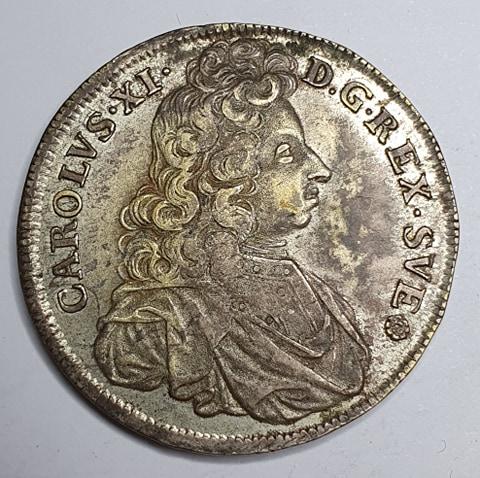 Karl XI 4 Mark 1694
