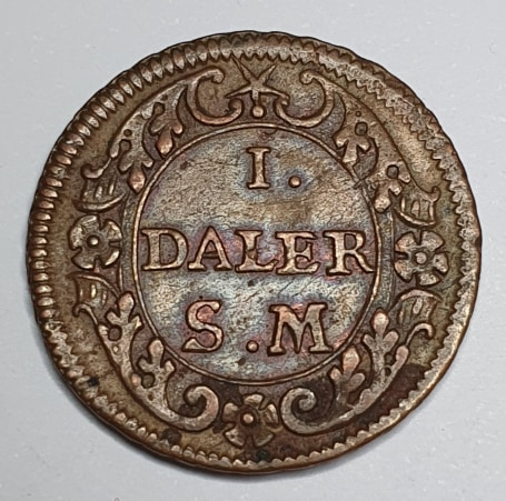 *Karl XII, 1 Daler Phoebus, 1718