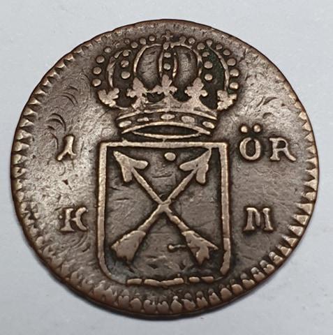 Ulrika Eleonora, 1 Öre KM 1719