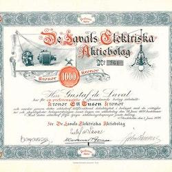 De Lavals Elektriska AB (Gustaf de Laval)