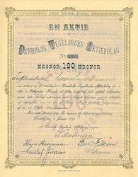 Danhults Tegelbruks AB, 1891