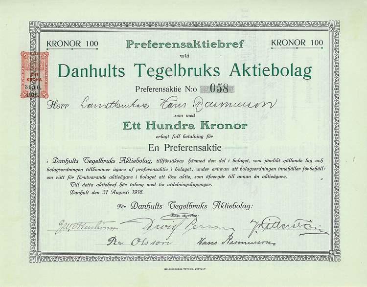 Danhults Tegelbruks AB
