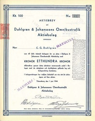 Dahlgren & Johanssons Omnibustrafik AB