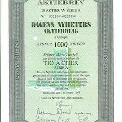 Dagens Nyheter AB, 1000 kr