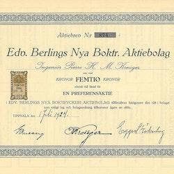 Edv. Berglings Nya Boktryckeri