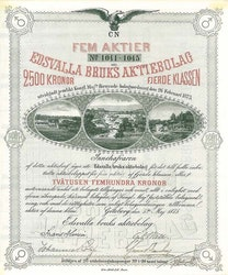 Edsvalla Bruks AB, 2500 kr