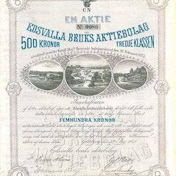 Edsvalla Bruk AB, Tredje klassen