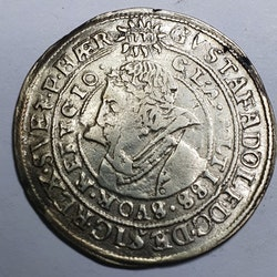 *Gustav II Adolf, 1/2 Mark 1615