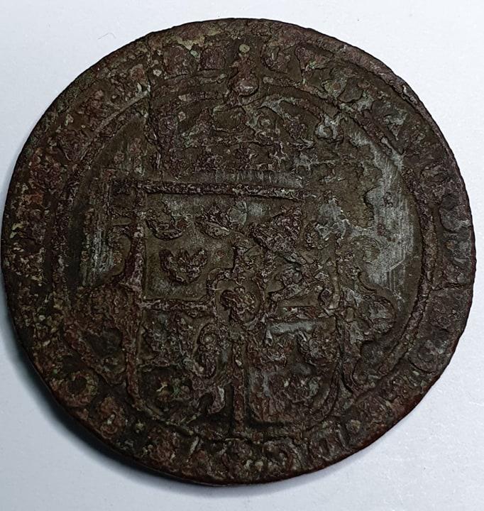 Gustav II Adolf 1/2 Öre 1629 Nyköping