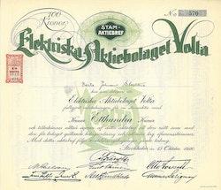 Elektriska AB Volta, 100 kr.