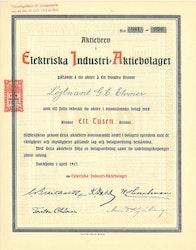 Elektriska Industri AB, 1917
