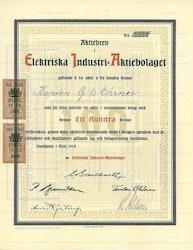 Elektriska Industri AB, 100 kr