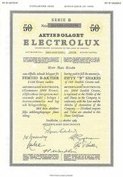 Electrolux, AB 1969