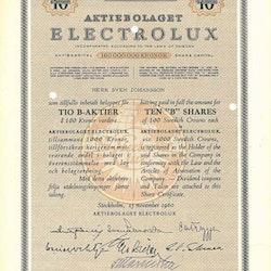Electrolux, AB1960