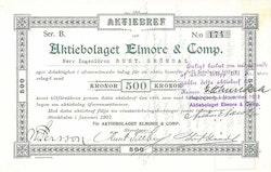 Elmore & Comp., AB 500 kr