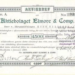 Elmore & Comp., AB 4500 kr