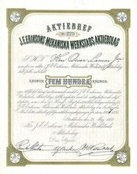 Eriksons Mekaniska Verkstads AB, J.E. 1887