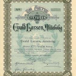 Evald Larsen, AB