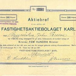 Fastighets AB Karl
