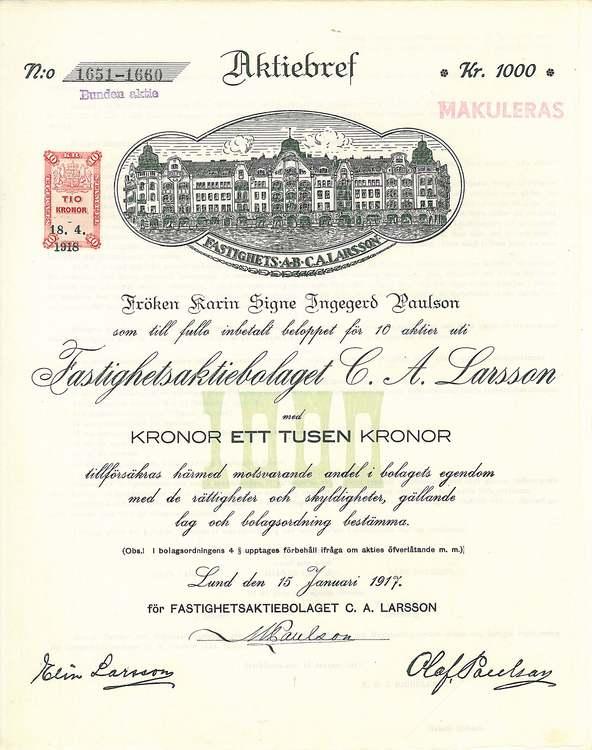 Fastighets AB C.A. Larsson