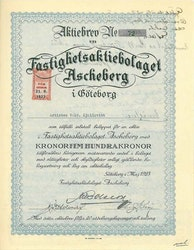 Fastighets AB Ascheberg
