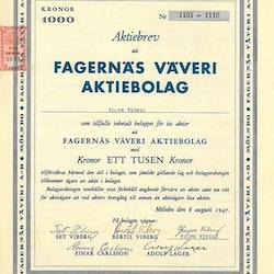 Fagernäs Väveri AB