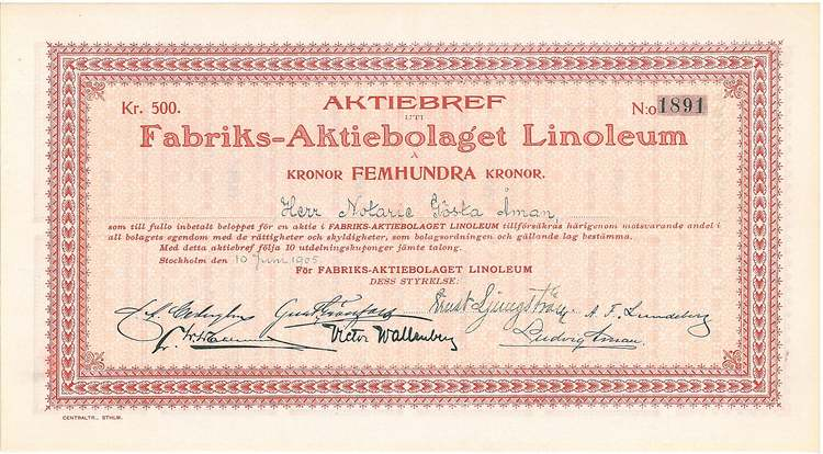 Fabriks AB Linoleum