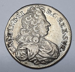 *Karl XI, 1 Mark 1695
