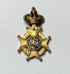 Miniatyr Leopoldsorden Belgien