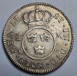*Fredrik I 2 Mark 1721