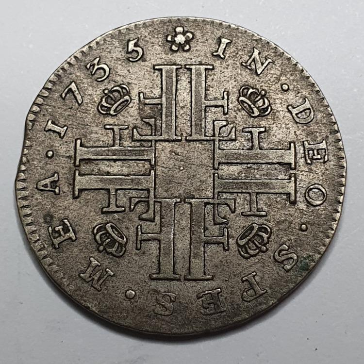 Fredrik I 5 Öre 1735