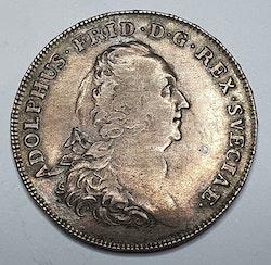 *Adolf Fredrik, 1/2 Riksdaler, 1768