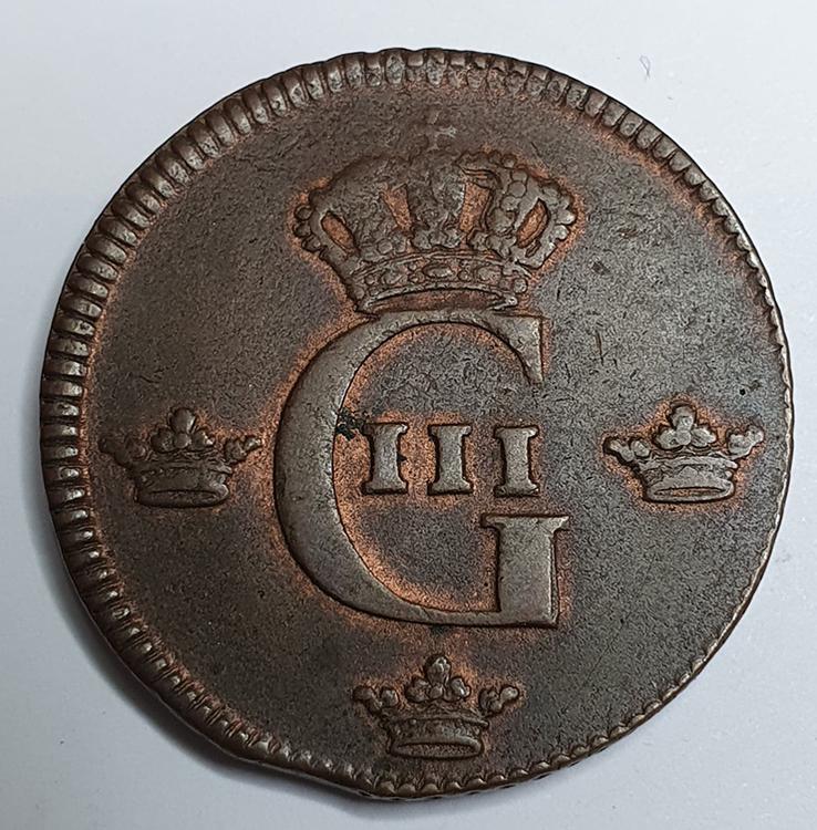 *Gustav III 1 Öre 1778