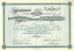 Fastighets AB Valhalla
