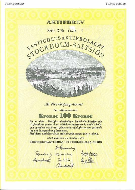 Fastighets AB Stockholm-Saltsjön
