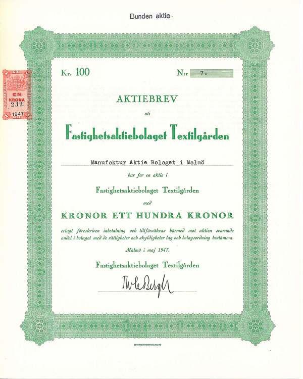 Fastighets AB Textilgården