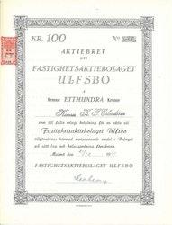 Fastighets AB Ulfsbo
