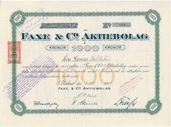 Faxe & Co. AB