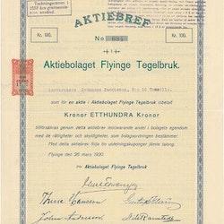 Flyinge Tegelbruk, AB