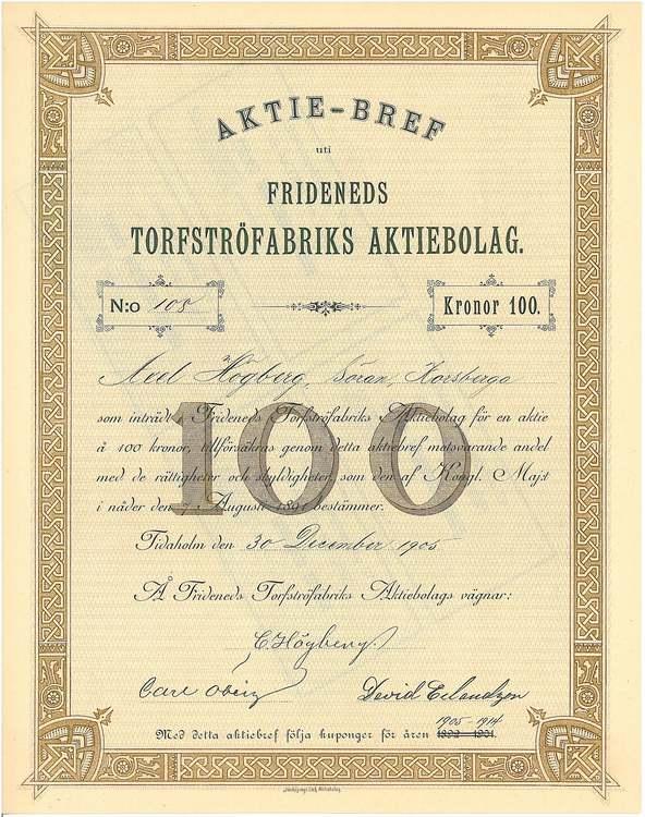 Frideneds Torfströfabriks AB