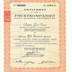 Fruktkompaniet Gust. Olsson AB