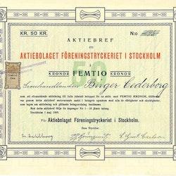 Föreningtryckeriet i Stockholm, AB
