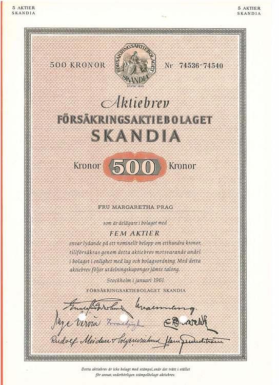 Försäkrings AB Skandia