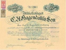 Hagendahls Son, AB C.A