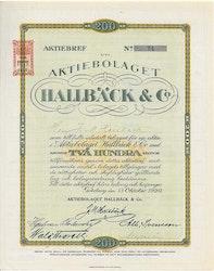 Hallbäck & Co., AB